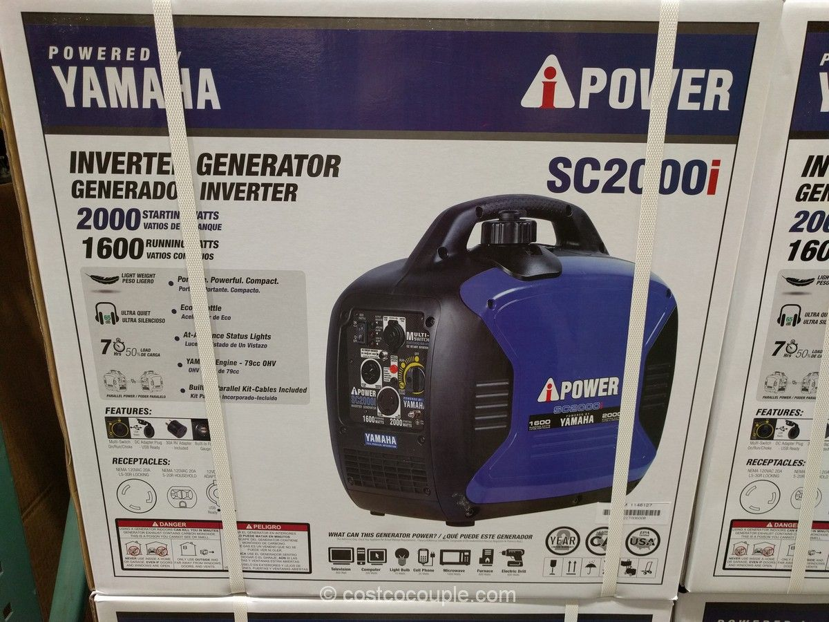Yamaha Ipower Sc2000i Inverter Generator Costco Yamaha Inverter Generator Generation
