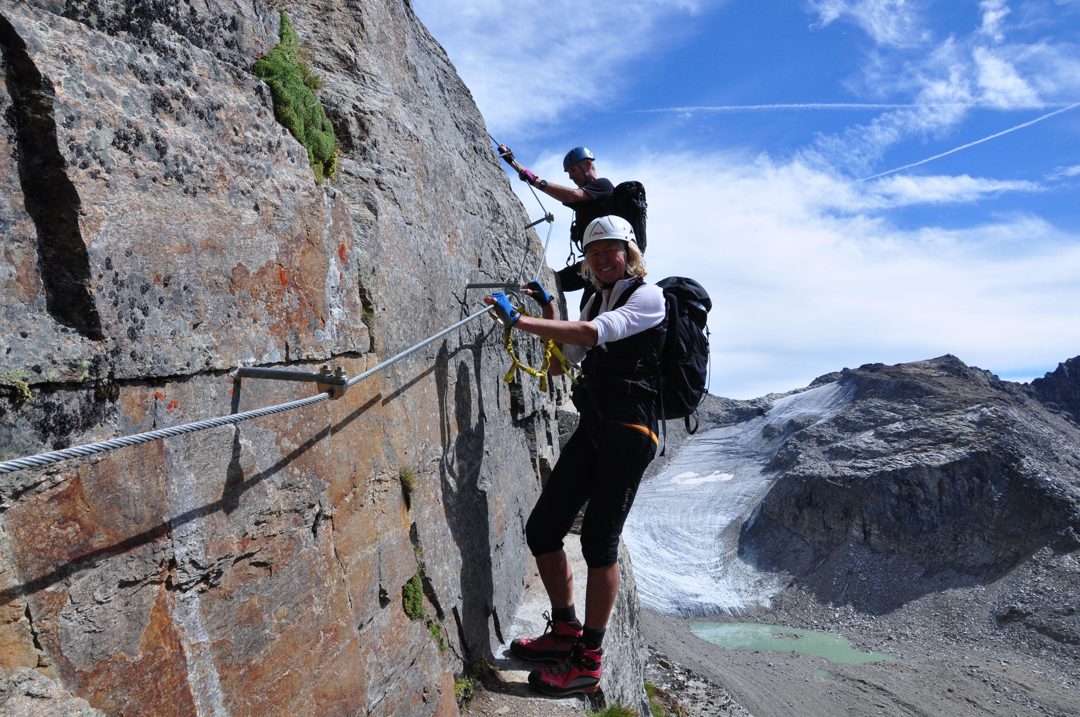 Klettersteig Bregenz : Klettersteig tschengeleser hochwand in den ortler alpen