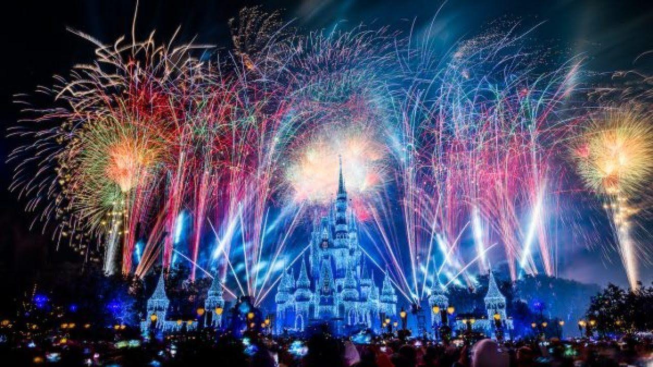 Walt Disney World Live Stream Disney fireworks, Disney