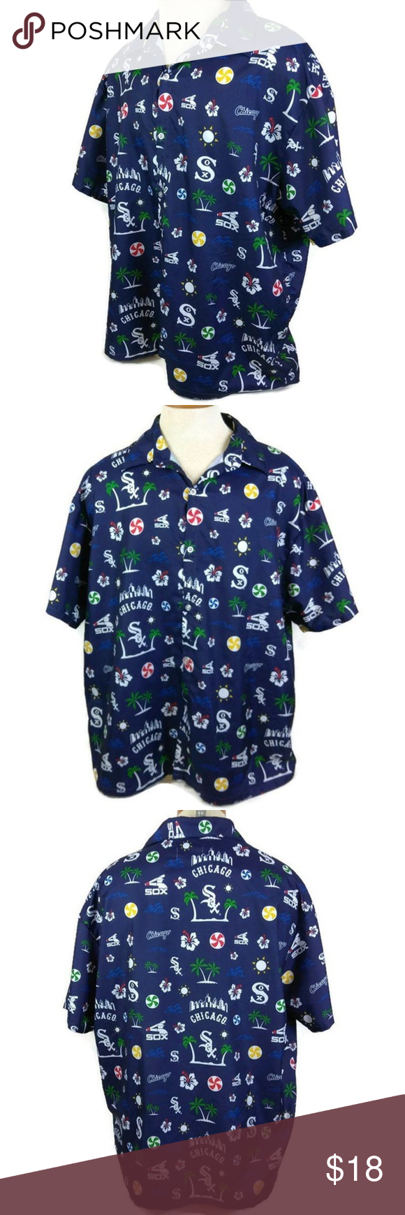 c17b2fbc Chicago White Sox Hawaiian Shirt You are buying Beggars Pizza Mens Shirt  Size XL Chiccago White