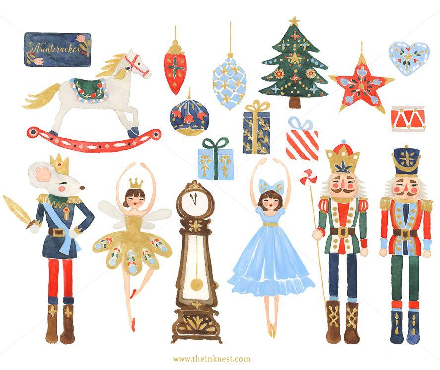 The Nutcracker | Cascanueces, Navidad y Ilustraciones