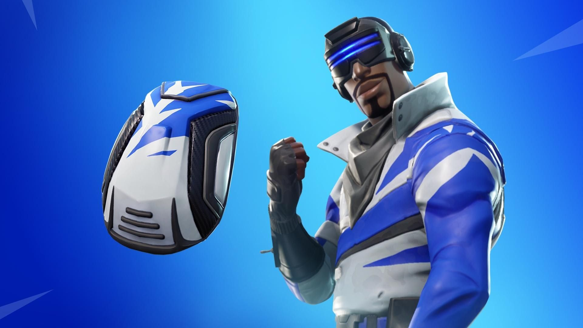 Elegant Blue Striker Skin Fortnite