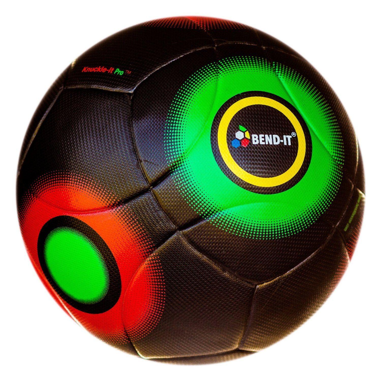 33f4ccfa2804a Amazon.com : Bend It Soccer, KNUCKLE-IT PRO BLACK, Match Soccer Ball ...