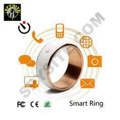Smart Ring Wearable Technology - it can run functions for your phone, share data,…