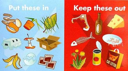 Wat mag wel en niet in het compostvat?