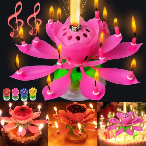 The Fantastic Magic Birthday Candle Looks Great Shiny Smile Party Free Shipping