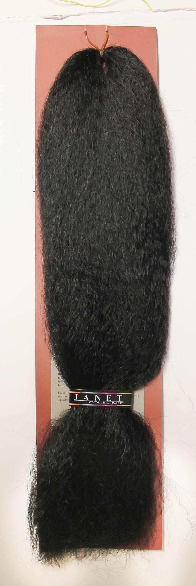 Janet Collection 100% Kanekalon Jumbo Braiding Hair ...