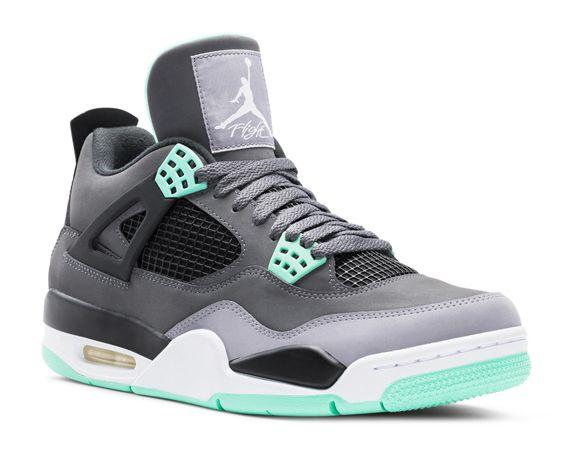 Air Jordan IV Retro \u2013 Green Glow � Sneakers SaleNike ...
