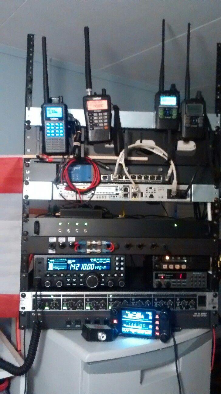 Ham radio hf attic antenna