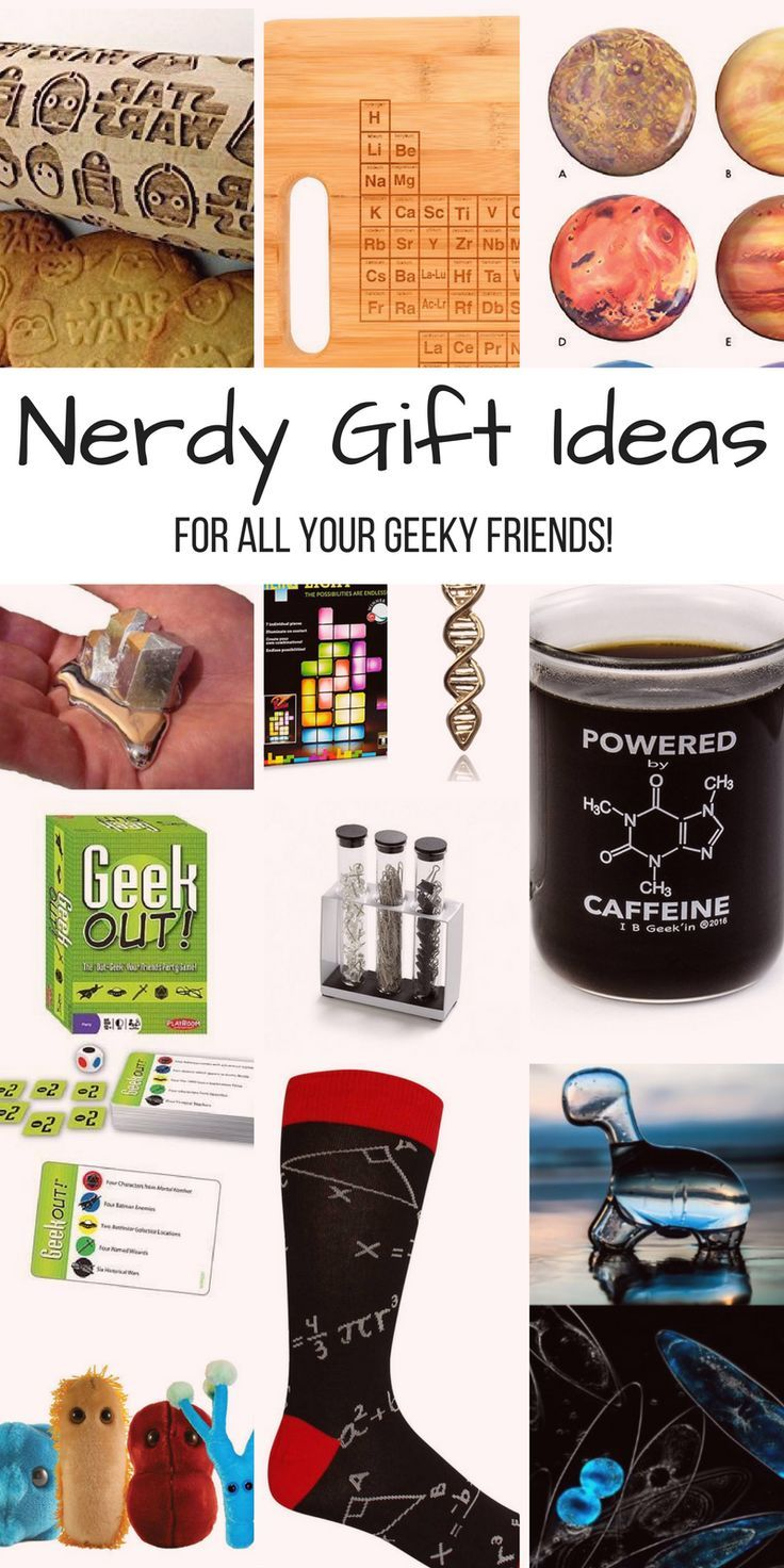Science Math Geek And Star Wars Nerd Gift Ideas