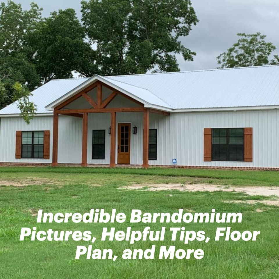Hines Family Barndominium 28 Incredible Pictures Helpful Tips Floor Plan And More In 2020 Barn Style House Barn House Plans House Plans Farmhouse