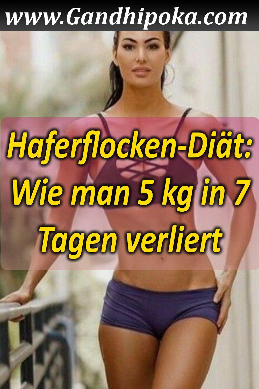 Wie man in 4 Tagen 7 Kilo Gewicht verliert