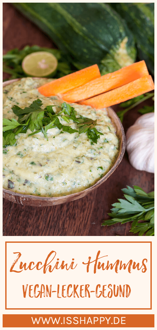 Photo of Simple zucchini hummus without chickpeas (low carb zucchini dip)