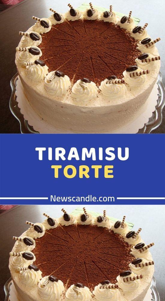 TIRAMISU TORTE  #tortenrezepte
