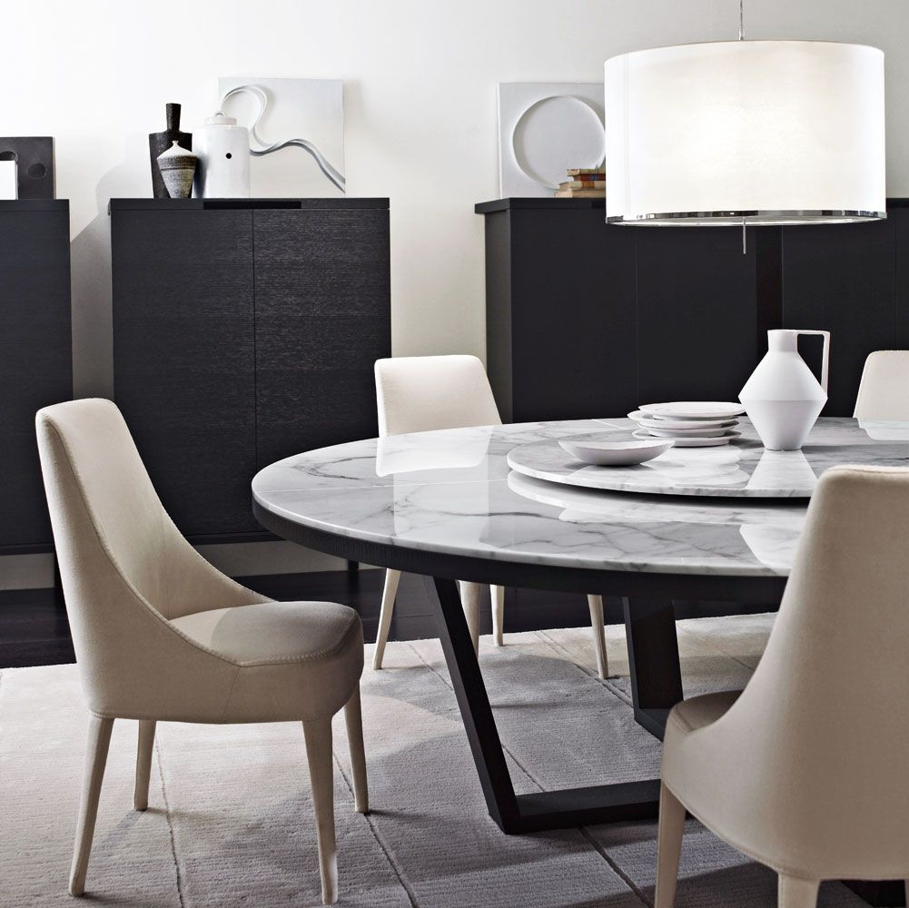 Tables: XILOS – Collection: Maxalto – Design: Antonio Citterio ...