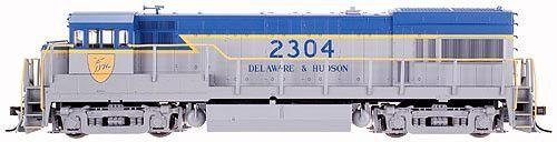 Atlas HO #8263 GE U23B Locomotive Delaware & Hudson #2304