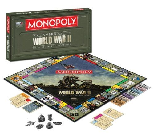 Monopoly World War Ii Games Monopoly Boards Pinterest