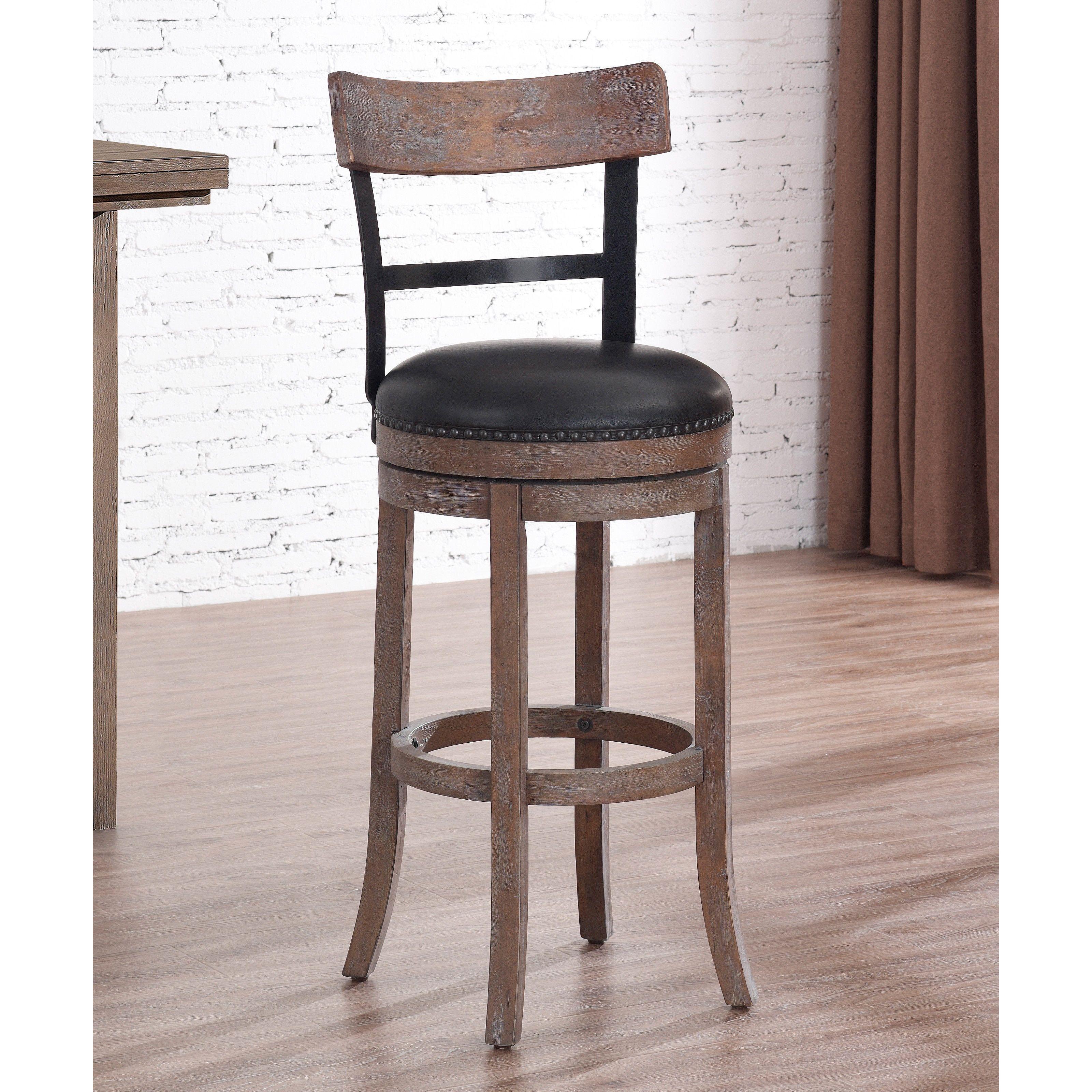 Brilliant Greyson Living Siena Swivel Bar Stool Siena 30 Brown Cjindustries Chair Design For Home Cjindustriesco