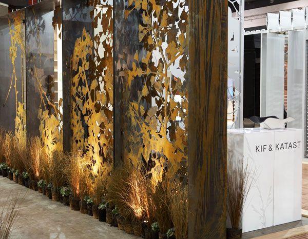 Cut metal screens oregano design interiors room for Ada jardin perfume