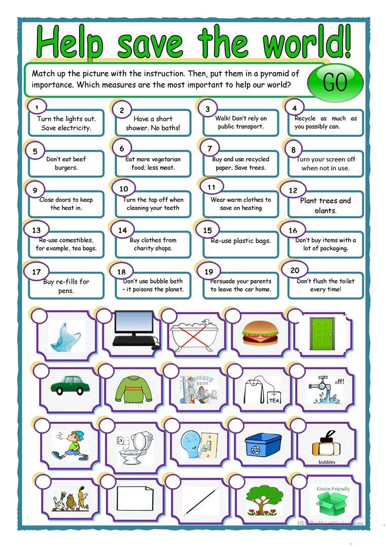 Earth Day Resource Worksheet Free Esl Printable Worksheets Made By Teachers Earth Day Worksheets Education English English Activities [ 1079 x 763 Pixel ]