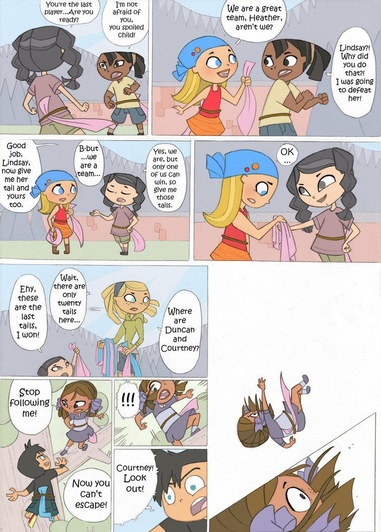 Total Drama Kids Comic Pag 8 By Kikaigaku Deviantart Com On Deviantart