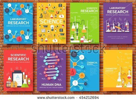 stock-vector-science-information-cards-set-laboratory-template-of - chemistry chart template