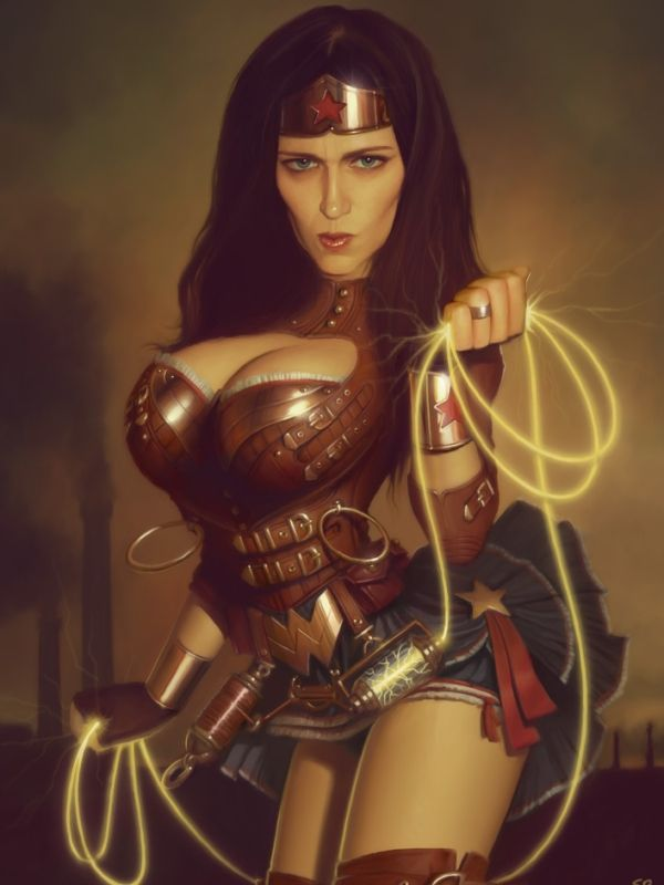 Steampunk Wonder Woman
