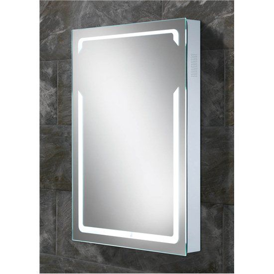 Bluetooth Enabled Led Backlit Mirror With Built In Stereo Speakers Play Music From Your Smart Phone Or Any Ot With Images Bluetooth Bathroom Mirror Mirror Bathroom Mirror
