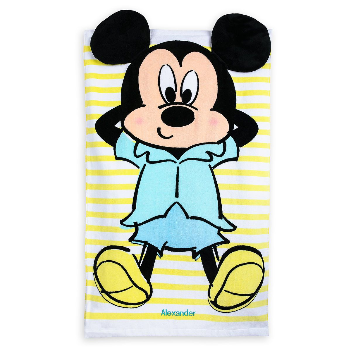 Product Image Of Mickey Mouse Beach Towel For Baby Personalized
