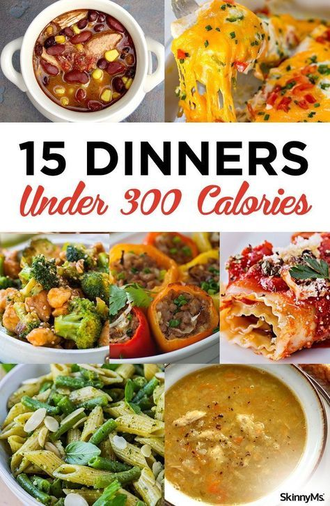 15 Dinners Under 300 Calories images