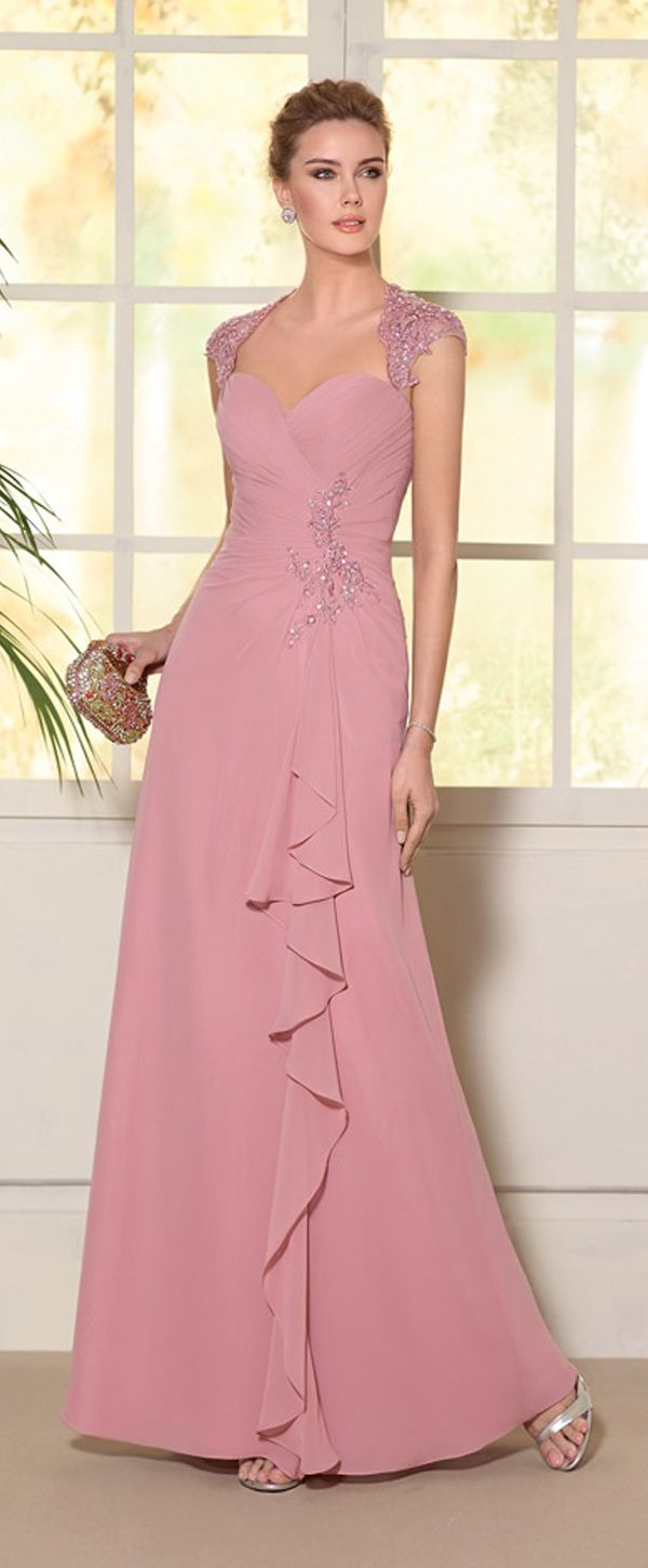 Chic Tulle & Chiffon Sweetheart Neckline A-line Mother Of The Bride ...