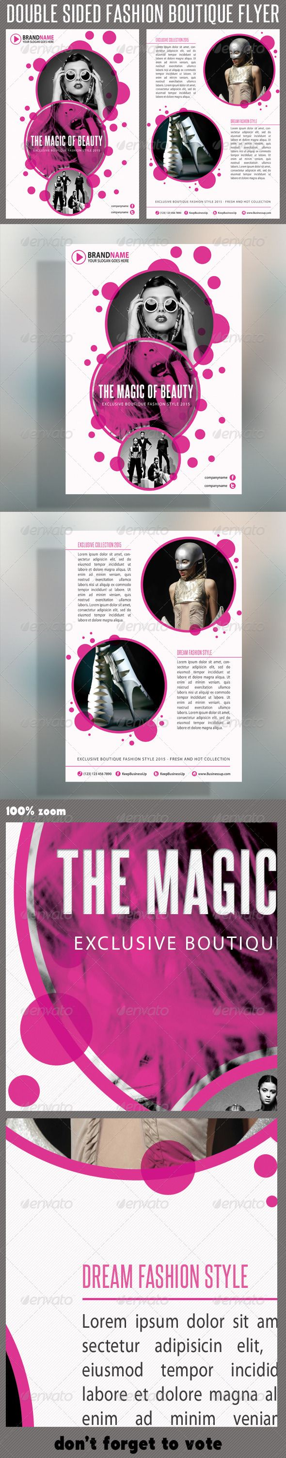 Fashion Product Flyer 02 Business Company Template And Fonts