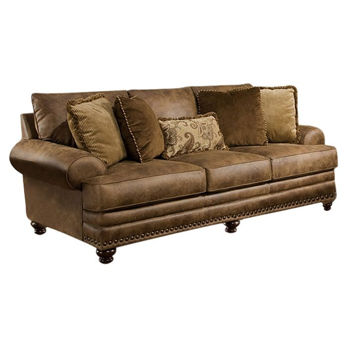 You Ll Love The Shane 95 Sofa At Joss Main With Great Deals On All Products And Free Shipping On Most Stuff Even The Big Stuff Rustic Sofa Sofa Couch
