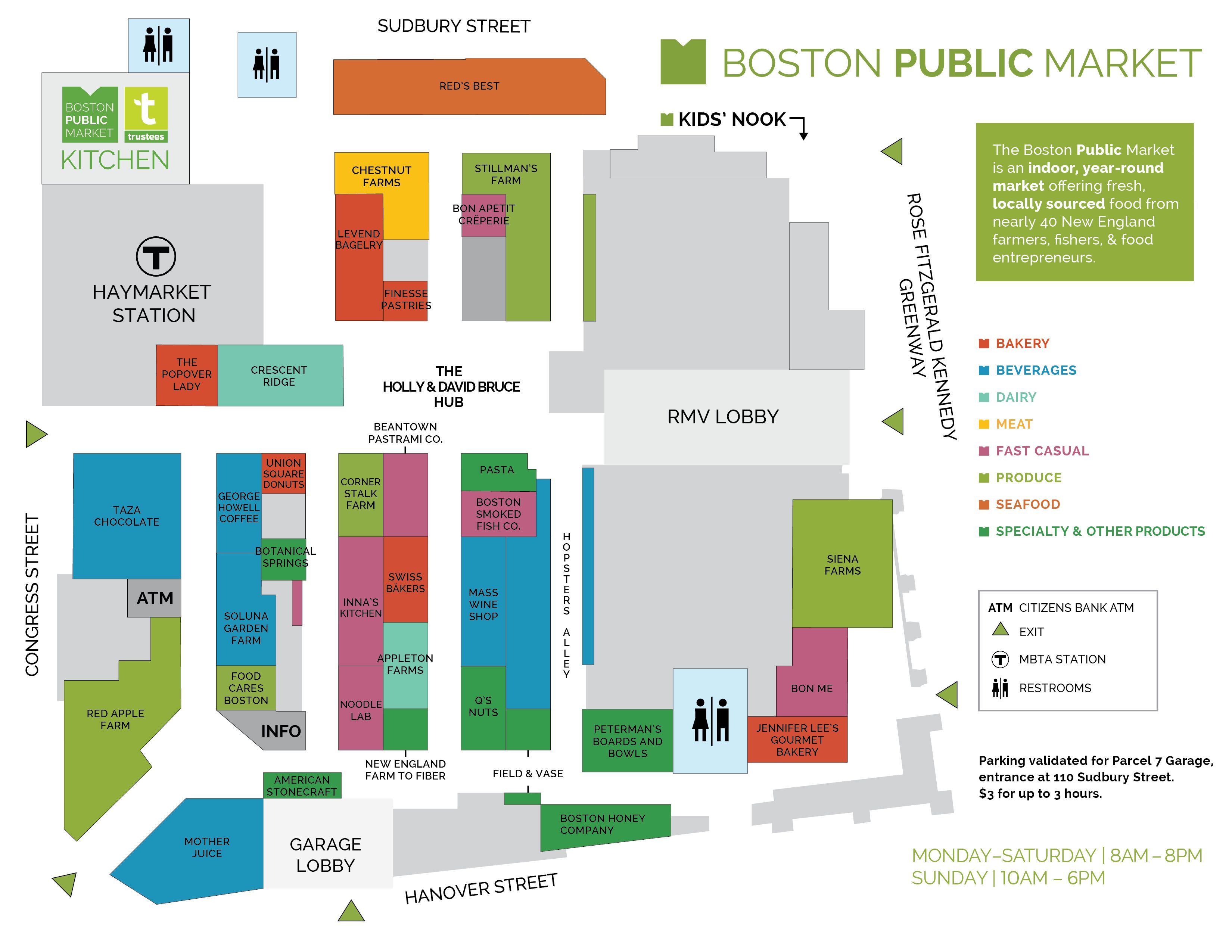 Boston Public Market, Boston (With images) Boston public