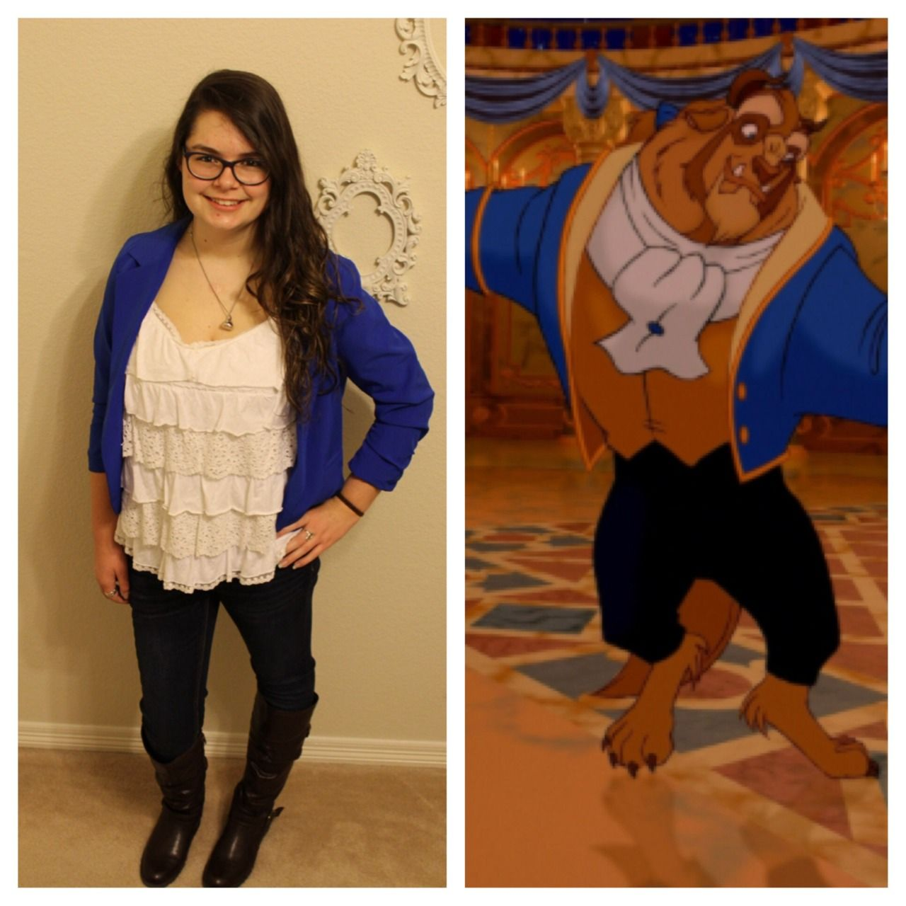 ff3d129caaf awaitingmytriptodisney  Day 30  The Beast March Disneybound Challenge  Hipster Disney