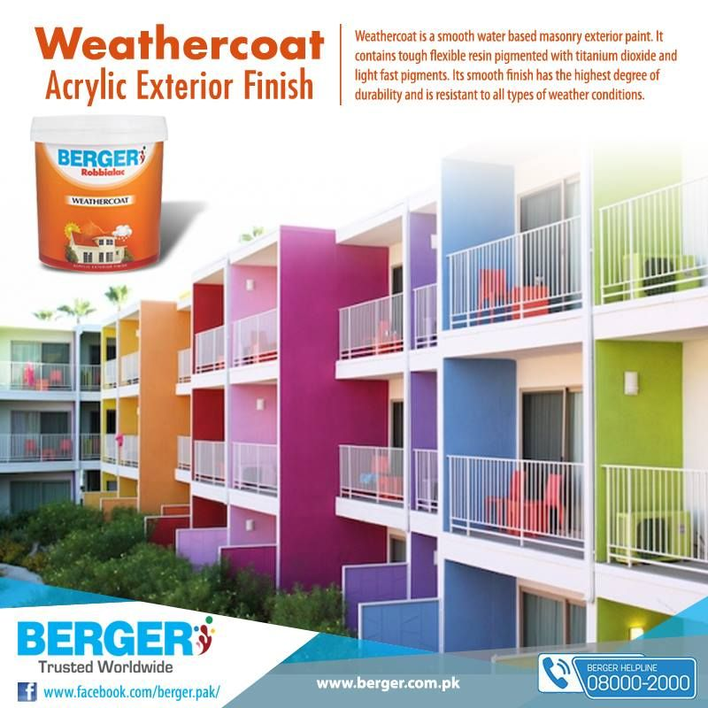 Berger bergerpaintpakistan bergerpaint color paint decor weathercoat exteriordecor