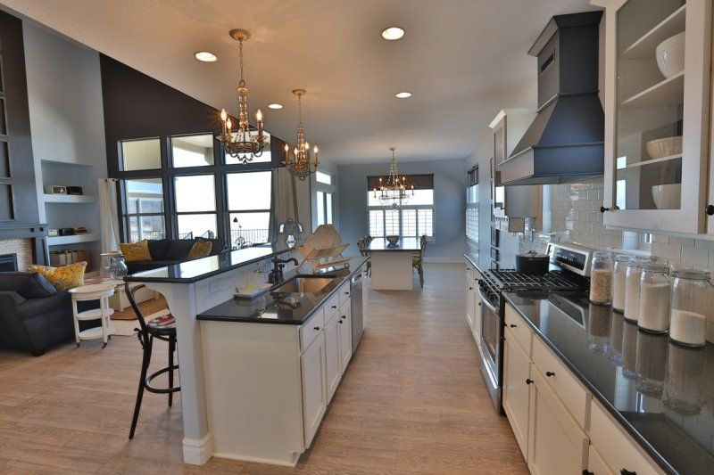 Kitchen In The Dublin Plan By Henry Walker Homes Home House