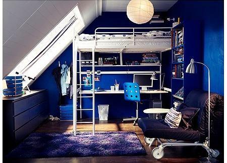 Cama alta de ikea room pinterest ideas para - Ikea cama alta ...