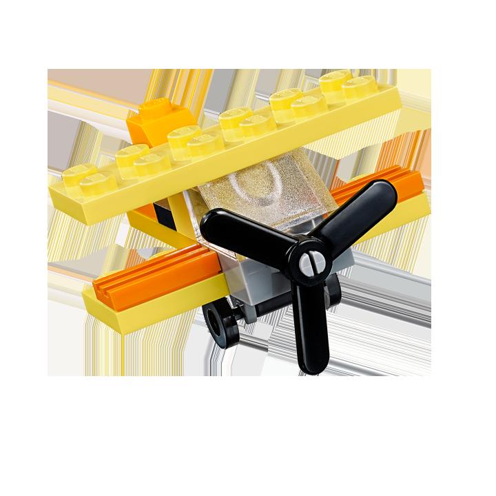 oranges flugzeug lego pinterest flugzeug lego anleitung und lego. Black Bedroom Furniture Sets. Home Design Ideas