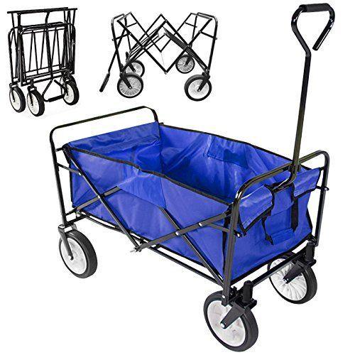 Radical Deal Foldable Utility Cart Garden Wagon Shopping Top Sports Beach (Blue), http://www.amazon.com/dp/B00V34TZ2G/ref=cm_sw_r_pi_awdm_Lg8wvb0ZCBQTV