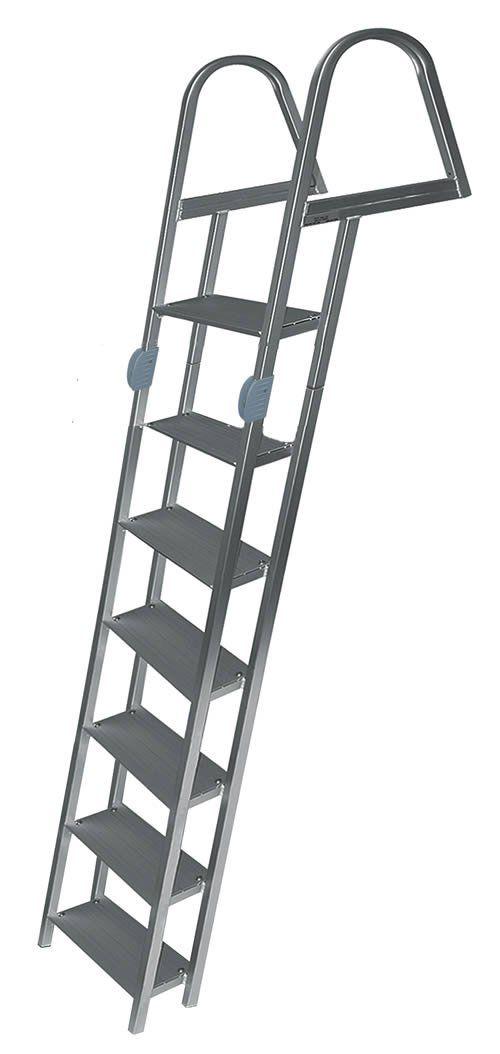 7 Step Folding Angled Dock Ladders Dock Ladder Aluminium Ladder Ladder