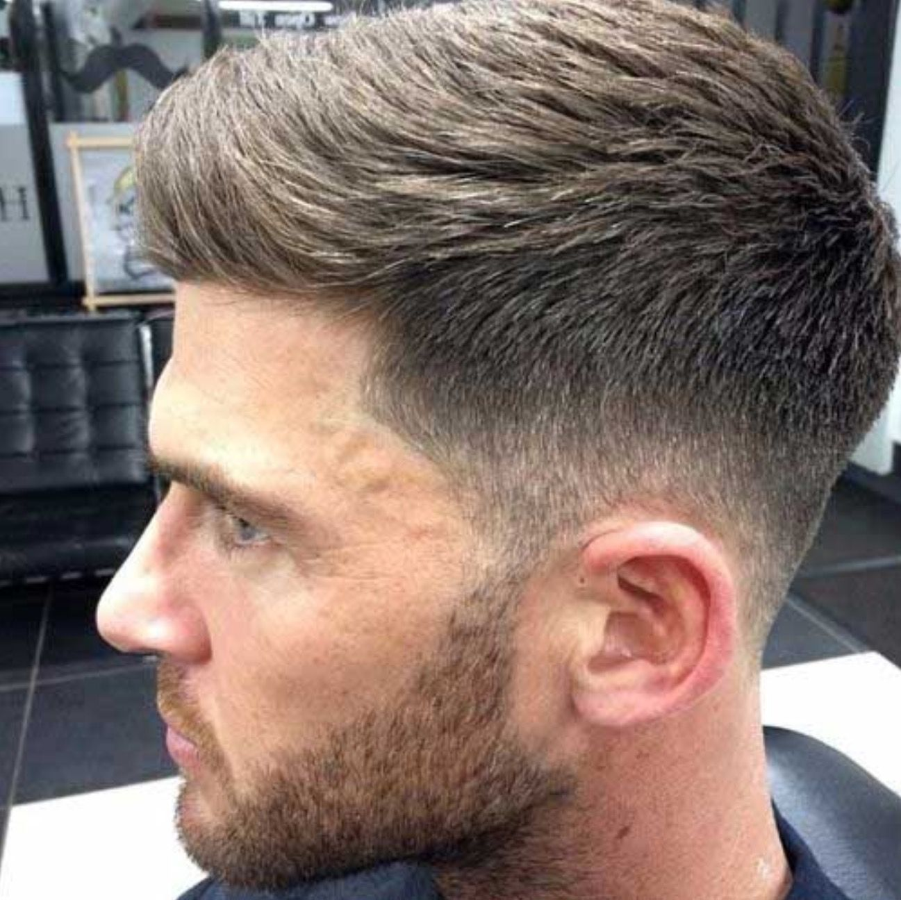 short haircut ideas for thick hair, men's hairstyles (2015/2016
