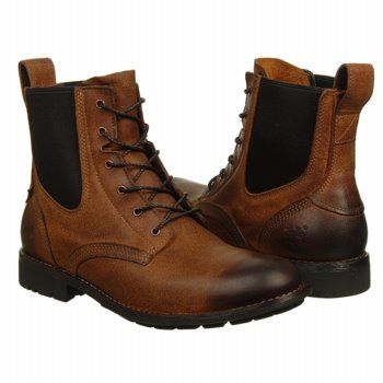 Timberland City Premium Chelsea Boots (Red Brown) - Men's Boots - 14.0 M