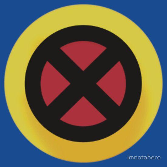 X Logo T Shirt By Imnotahero Logos Men Logo Xmen Logo