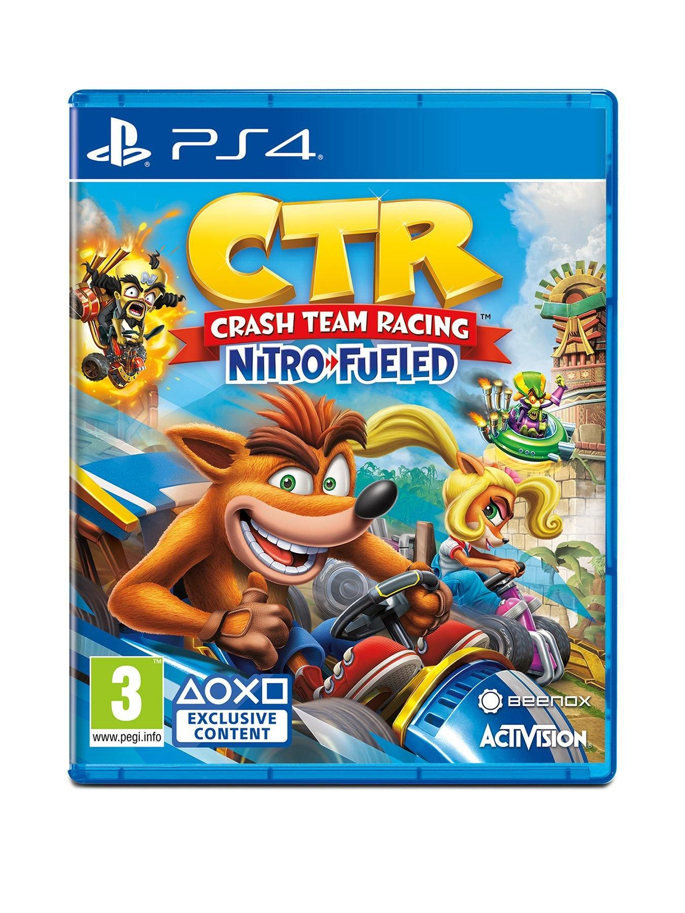Crash Team Racing NitroFueled PS4 Crash team racing