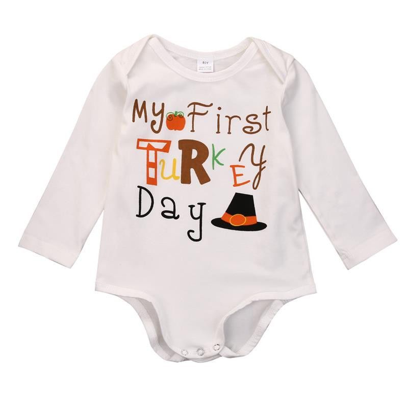 57654e75e 2016 Fashion Autumn Newborn Infant Baby Boys Girls Halloween White ...