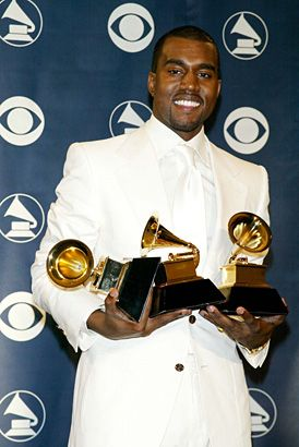 Kanye West At The 2004 Grammys Kanye West Songs Kanye West Grammy