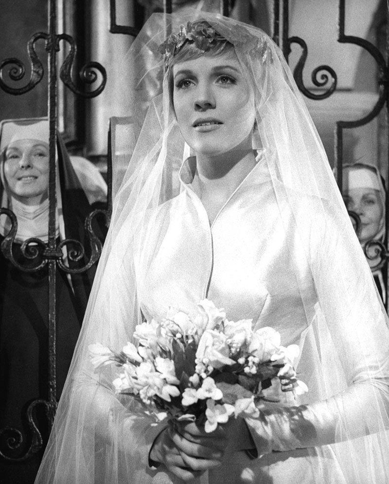 Maria Von Trapp Wedding Dress In 2020 Wedding Movies Sound Of Music Movie Movie Wedding Dresses