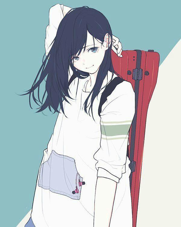 おしゃれ かわいい 可愛い 女の子 イラスト