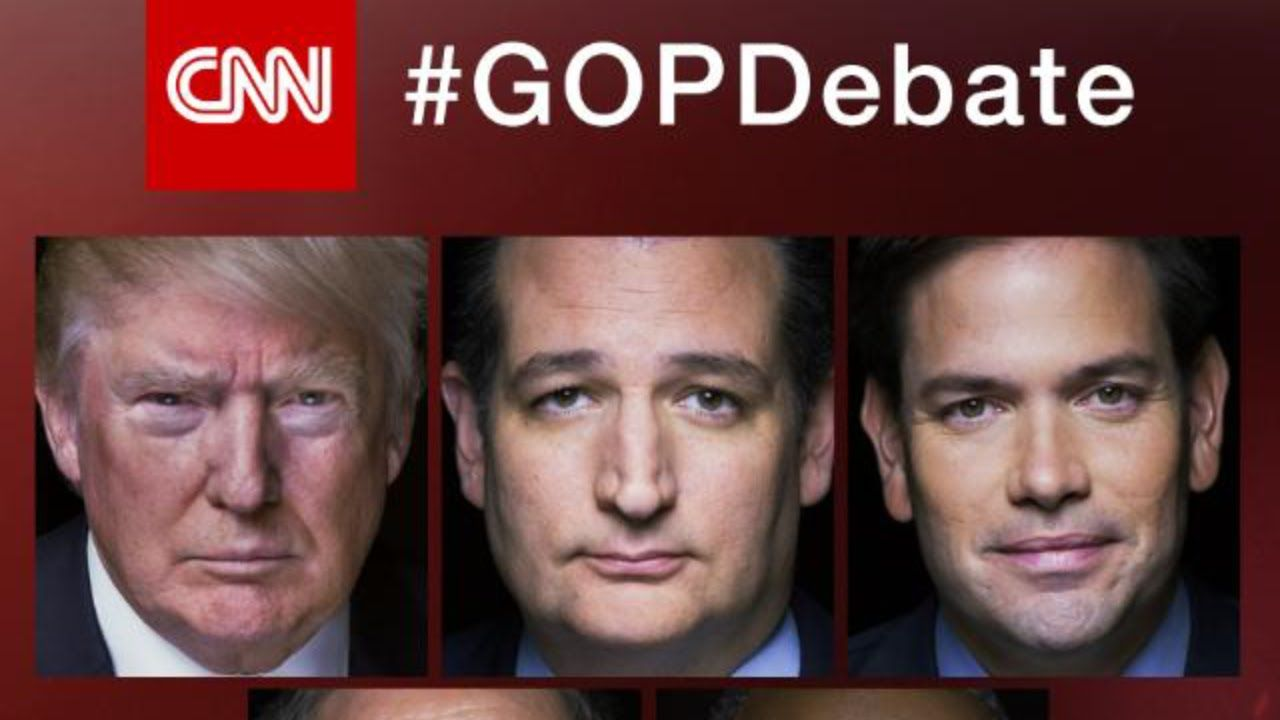"GOP Debate Highlights February 25 2016: Donald Trump, Cruz, Hillary Clinton ""Going to get killed"" #DonaldTrump #GOP #Debate #GOPDebate #Donald #Trump"